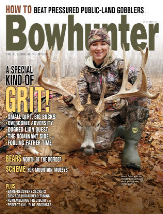 Bowhunter Magazine April May 2021