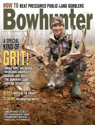 Bowhunter Magazine April May 2021