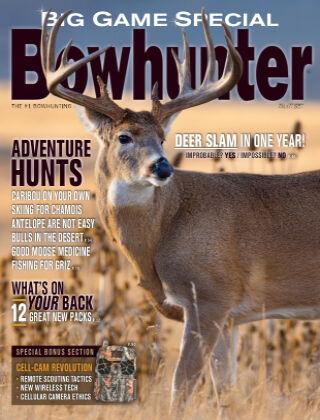 Bowhunter Magazine August - Big Game