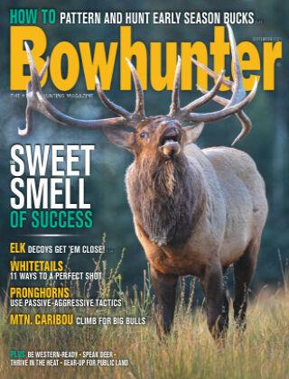Bowhunter Magazine September 2021