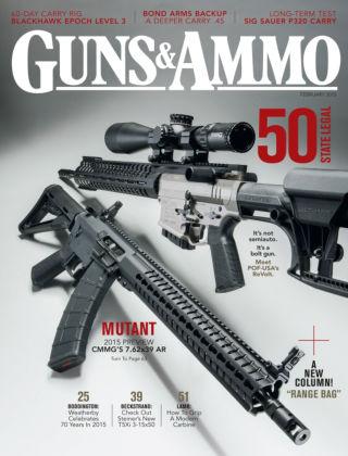 Guns & Ammo February 2015