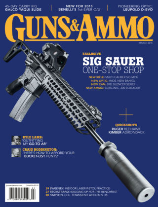 Guns & Ammo March 2015