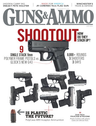 Guns & Ammo July 2015