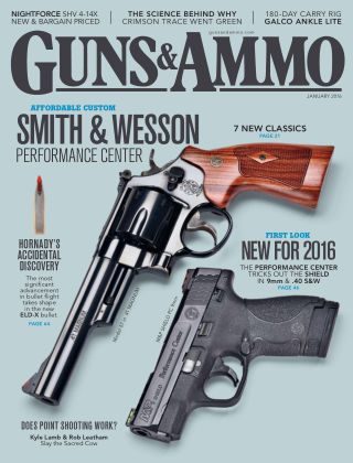 Guns & Ammo Jan 2016