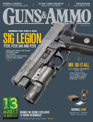 Guns & Ammo Feb 2016