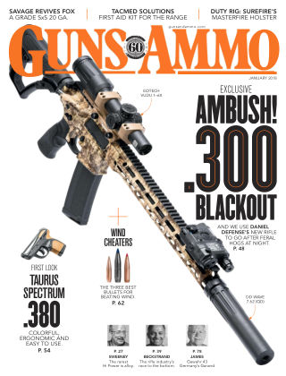 Guns & Ammo Jan 2018