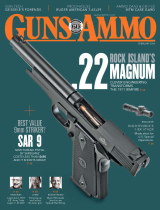 Guns & Ammo Feb 2018