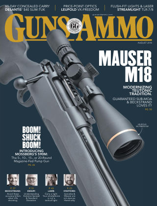 Guns & Ammo Aug 2018