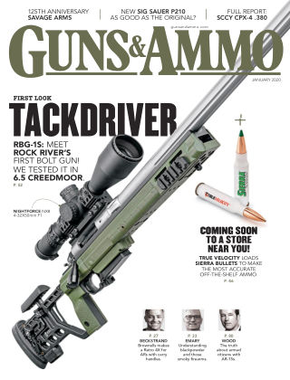 Guns & Ammo Jan 2020