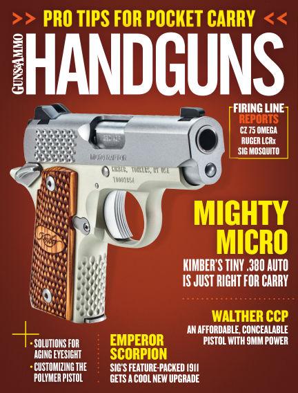 Handguns April 14, 2015 00:00