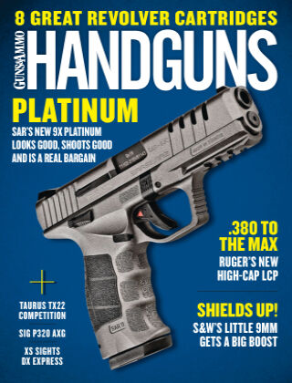 Handguns October/November