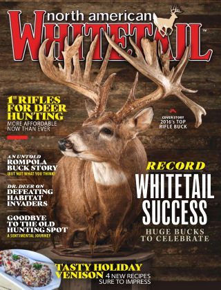 North American Whitetail Dec-Jan 2018