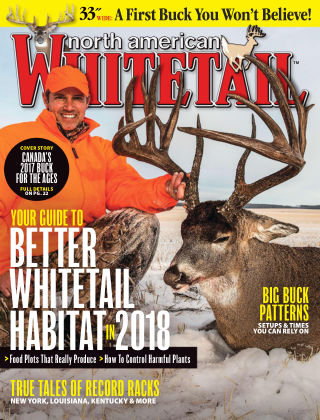 North American Whitetail Spring 2018