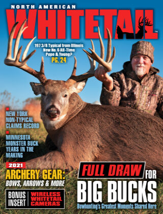 North American Whitetail August - Full Draw