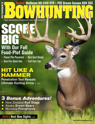 Petersen's Bowhunting August 2015