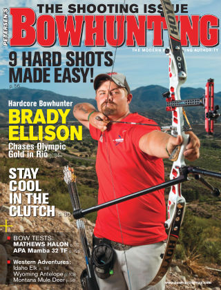 Petersen's Bowhunting Aug 2016