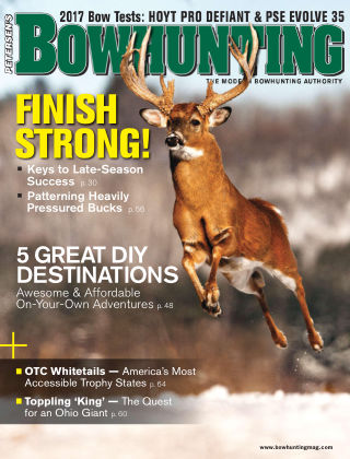 Petersen's Bowhunting Jan-Feb 2017
