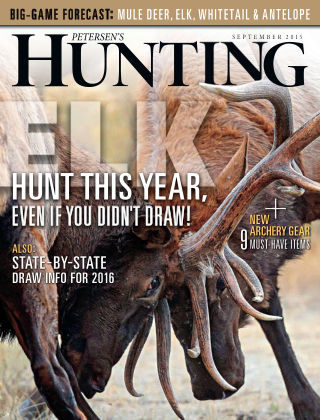 Petersen's Hunting September 2015