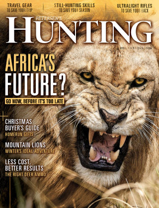 Petersen's Hunting Dec-Jan 2016
