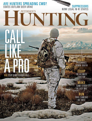 Petersen's Hunting Mar 2016