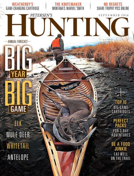 Petersen's Hunting August 02, 2016 00:00
