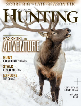 Petersen's Hunting Dec-Jan 2019