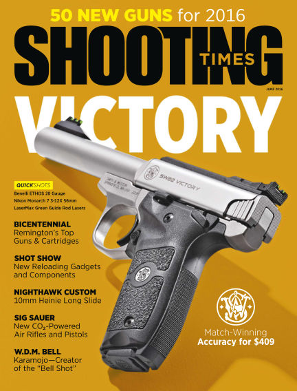 Shooting Times April 19, 2016 00:00