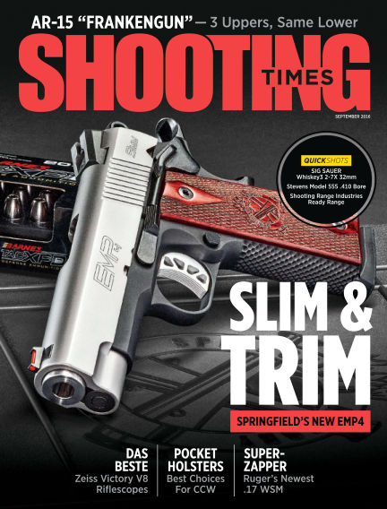 Shooting Times July 19, 2016 00:00