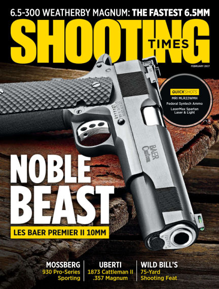 Shooting Times November 29, 2016 00:00