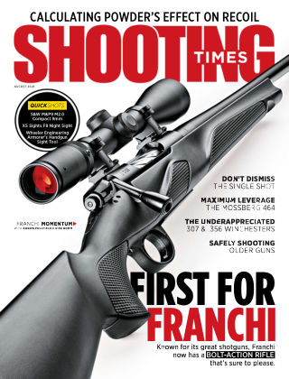 Shooting Times Aug 2018