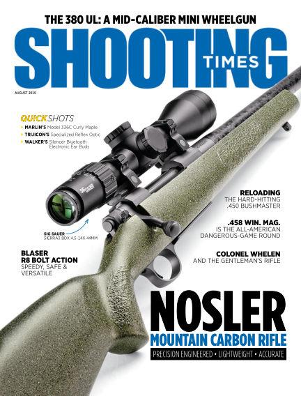 Shooting Times June 11, 2019 00:00