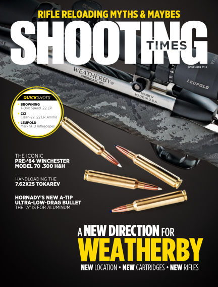 Shooting Times September 10, 2019 00:00