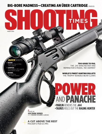 Shooting Times December 31, 2019 00:00