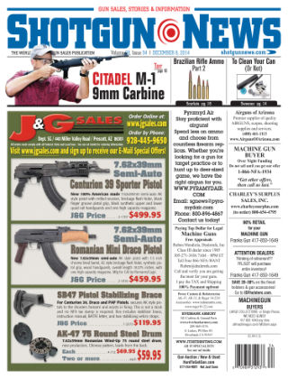 Shotgun News V.68 Issue 34