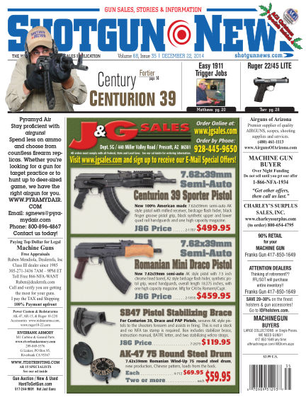 Firearms News December 09, 2014 00:00