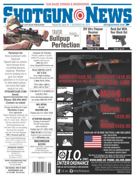 Firearms News December 23, 2014 00:00