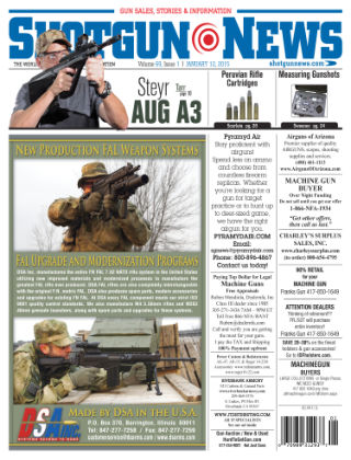 Shotgun News V.69 Issue 1