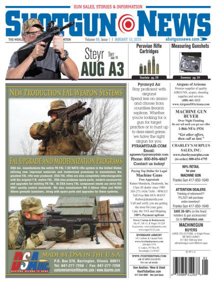 Firearms News January 06, 2015 00:00