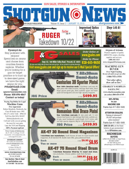 Firearms News January 13, 2015 00:00