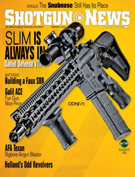 Firearms News January 20, 2015 00:00