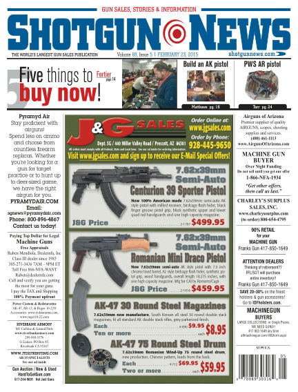 Firearms News February 17, 2015 00:00