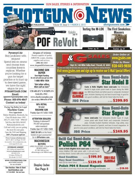 Firearms News February 24, 2015 00:00