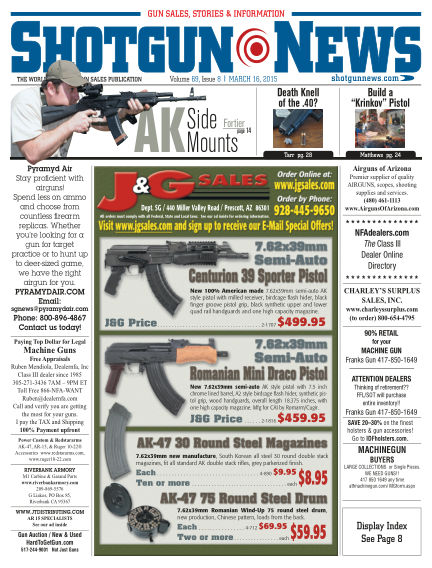 Firearms News March 10, 2015 00:00