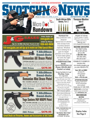 Shotgun News V.69 Issue 10