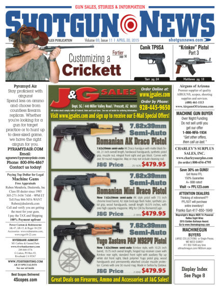 Firearms News April 14, 2015 00:00