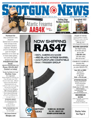 Shotgun News V.69 Issue 20
