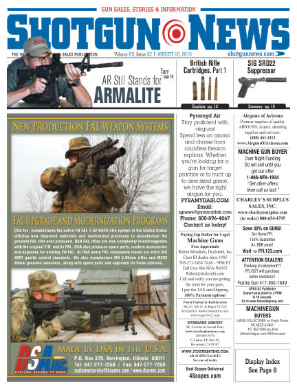 Firearms News August 04, 2015 00:00