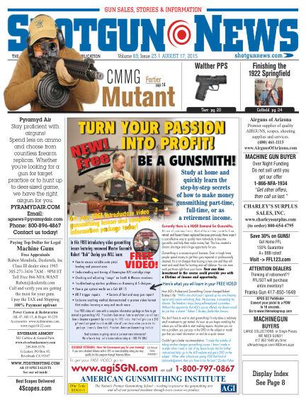 Firearms News August 11, 2015 00:00
