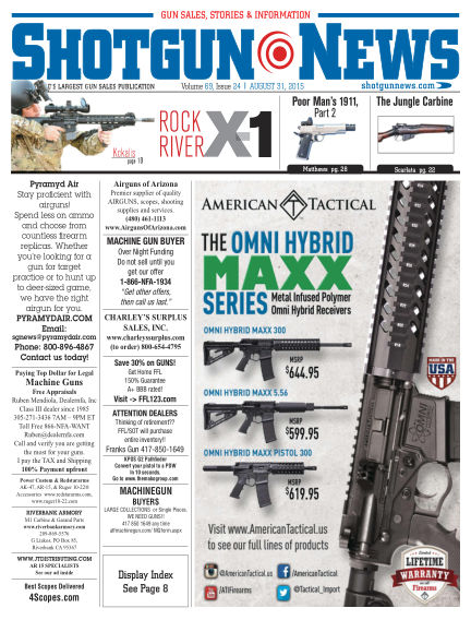 Firearms News August 18, 2015 00:00