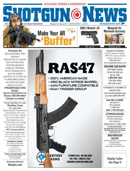 Firearms News September 08, 2015 00:00